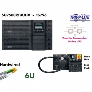 Tripp Lite Smart Online 7500VA UPS SU7500RT3U