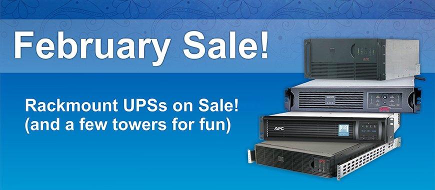 APC Smart-UPS Rackmount Sale