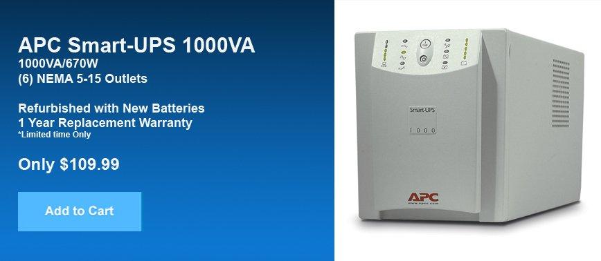APC SMART-UPS 1000 SU1000NET Beige
