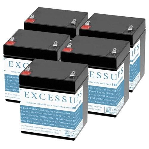 Toshiba UE1E1E006-5M 600VA UPS Battery Set