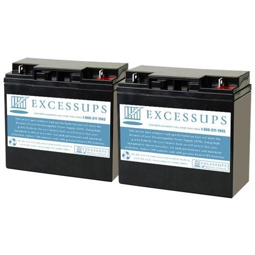 Alpha Technologies AWMII 600 (017-137-XX) Battery Set