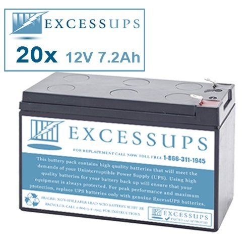 Minuteman MCP 5000i E Battery Set