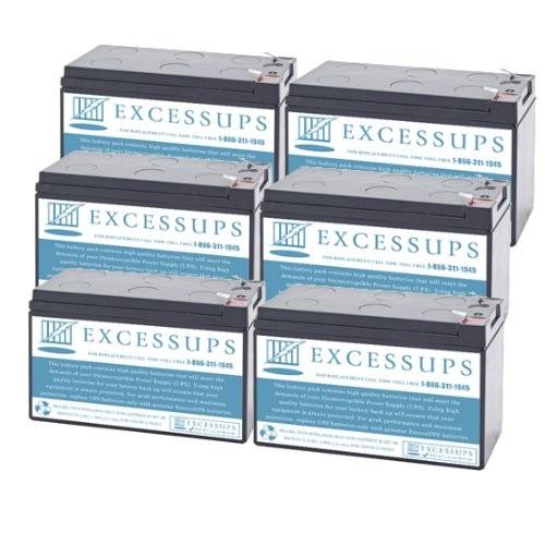 Eaton Powerware EX3000RT2U Battery Set