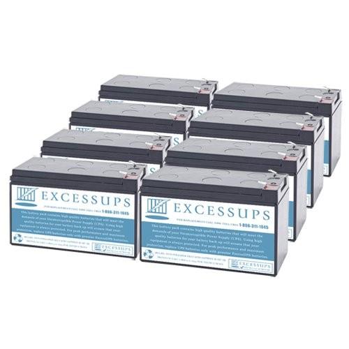Dell 2700W (K803N-4U) Battery set