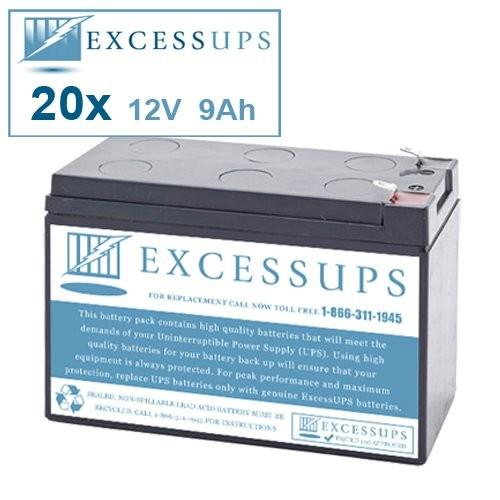 Eaton Powerware PW9125 240 EBM Battery Set