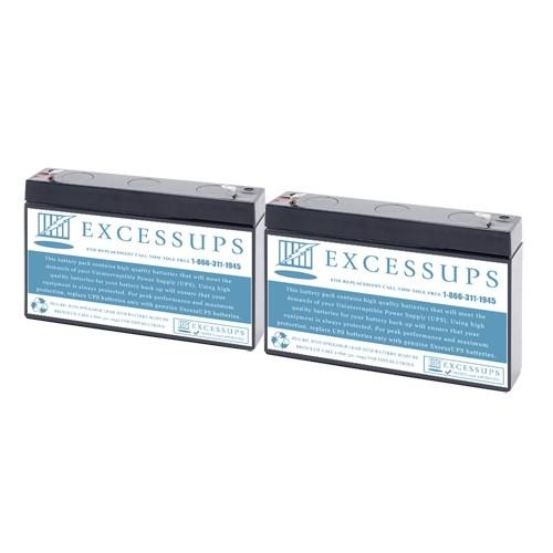 MGE Pulsar Evolution 500 Rack Battery Set