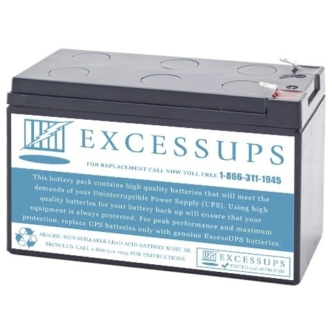 BE550R- Battery for APC Back UPS ES 8 Outlet 550VA