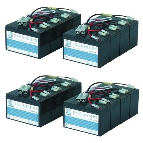 APC Dell Smart UPS 5000VA RM 7U DL5000R5XLTFMR Battery Set