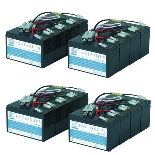 APC Smart UPS 5000VA SU5000TXFMR Battery Set