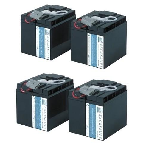 APC Smart UPS 5000VA Rack Mount 5U 208V SU5000RMT5UXFMR Battery Pack