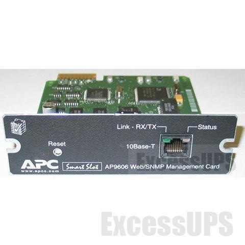 AP9606 Web/SNMP Management Card