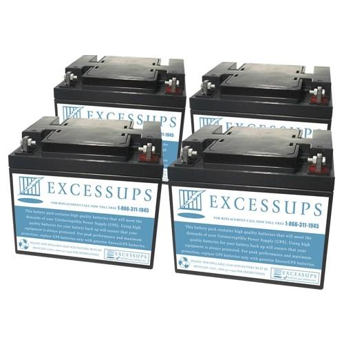 HP R12000 N+X Battery Set
