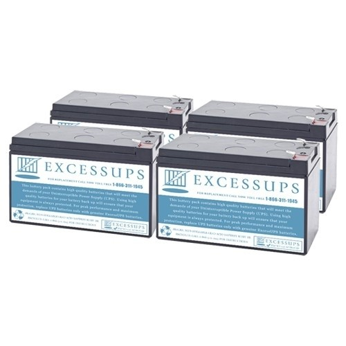 Replacement battery set for RBC94-2U