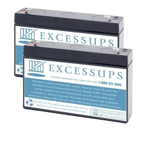 Tripp Lite SMART500RT1U Battery set