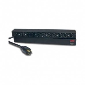 APC AP9564 Basic Rack PDU, 1U, 20A, 120V, Input: L5-20P Output: (10)5-20R - Refurbished